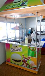 Burgeroo Food Cart For Sale (Rush) includes all the equipments