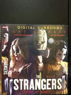🚚 DVD English movie, The Strangers