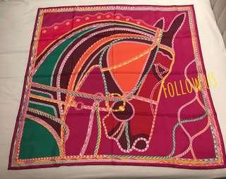Hermes 90x90cm Scarf 絲巾 圍巾