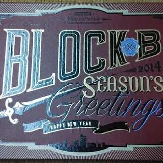 Block B - 2014年年曆