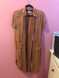 Aritzia Strokous Dress Size XS