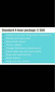 Part time maids available anytime islandwide