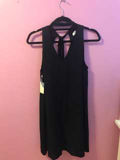 NWT Aritzia Ethere Dress in Black Size Small
