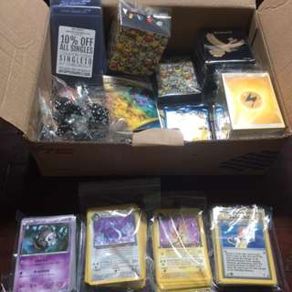 Pokemon card bundle set of WOTC cards and products