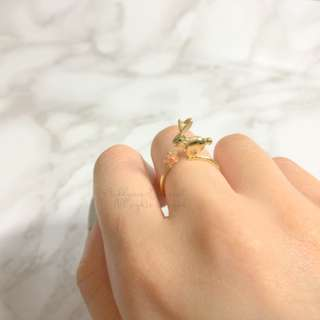 MADE IN KOREA Cute Rabbit Usagi Ring