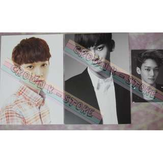 [CRAZY DEAL 80% OFF FROM ORIGINAL PRICE][READY STOCK]SMTOWN WEEK CONCERT CARD 3PC - EXO CHEN OFFICIAL ORIGINAL FROM KOREA (PRICE NOT INCLUDE POSTAGE)PLEASE READ DETAILS FOR MORE INFO; POSLAJU:PENINSULAR AREA :RM10/SABAH SARAWAK AREA: RM15