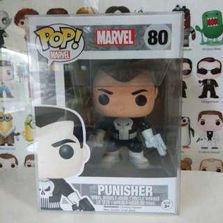 Funko Pop Punisher Exclusive Vinyl Figure Collectible Toy Gift Comic Super Hero Marvel