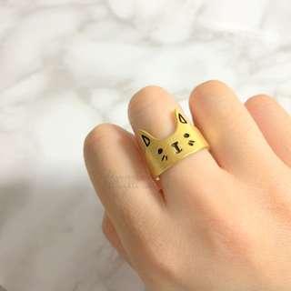 MADE IN KOREA Super Cute Cat Kitten Ring
