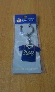 (包平郵📮)2002 FIFA WORLD CUP key chain