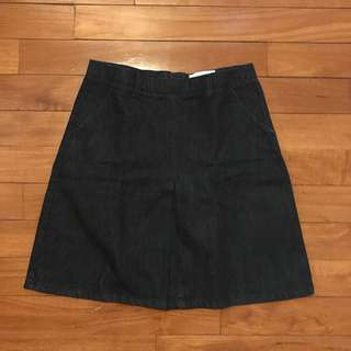 JW ANDERSON x TOPSHOP DENIM SKIRT