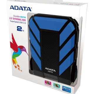 Adata Hard Disk 2TB AHD710