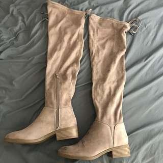 LEXI & ABBIE Knee High Boots