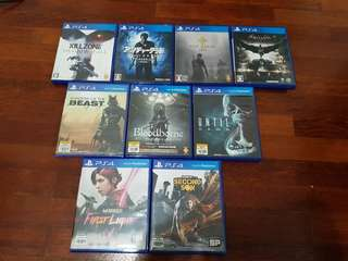 Ps4 Games Used