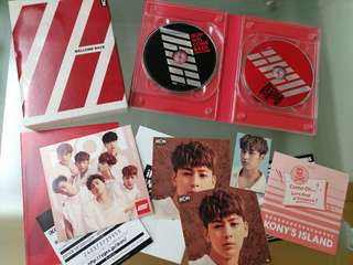 iKON WELCOME BACK 2CD+2DVD
