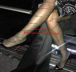 [READY STOCK] Intersia Tights/Pantyhose by Balenciaga