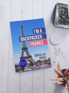 BUKU : I'M A BACKPACKER FRANCE (BM)