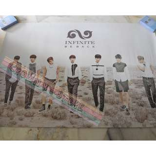 [LAST 1][CRAZY DEAL 90% OFF FROM ORIGINAL PRICE][READY STOCK]INFINITE KOREA OFFICIAL POSTER 1PC (SHIP USING TUBE)ORIGINAL FROM KOREA (PRICE NOT INCLUDE POSTAGE)PLEASE READ DETAILS FOR MORE INFO; POSLAJU:PENINSULAR AREA :RM10/SABAH SARAWAK AREA: RM15