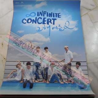 [CRAZY DEAL 90% OFF FROM ORIGINAL PRICE][READY STOCK]INFINITE KOREA OFFICIAL POSTER 1PC (SHIP USING TUBE)ORIGINAL FROM KOREA (PRICE NOT INCLUDE POSTAGE)PLEASE READ DETAILS FOR MORE INFO; POSLAJU:PENINSULAR AREA :RM10/SABAH SARAWAK AREA: RM15