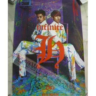 [CRAZY DEAL 90% OFF FR ORIGINAL PRICE][READY STOCK]INFINITE H HOYA DONGWOO KOREA OFFICIAL POSTER 1PC (SHIP USING TUBE)ORIGINAL FROM KOREA (PRICE NOT INCLUDE POSTAGE)PLEASE READ DETAILS FOR MORE INFO; POSLAJU:PENINSULAR AREA :RM10/SABAH SARAWAK AREA: RM15