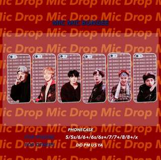 BTS MicMicBungee Phone Case