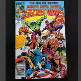 Marvel Secret Wars #1