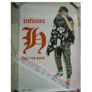 [CRAZY DEAL 90% OFF FR ORIGINAL PRICE][READY STOCK]INFINITE H DONGWOO KOREA OFFICIAL POSTER 1PC (SHIP USING TUBE)ORIGINAL FROM KOREA (PRICE NOT INCLUDE POSTAGE)PLEASE READ DETAILS FOR MORE INFO; POSLAJU:PENINSULAR AREA :RM10/SABAH SARAWAK AREA: RM15