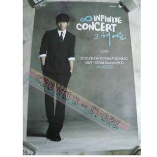 [LAST 1][CRAZY DEAL 90% OFF FR ORIGINAL PRICE][READY STOCK]INFINITE HOYA KOREA OFFICIAL POSTER 1PC (SHIP USING TUBE)ORIGINAL FROM KOREA (PRICE NOT INCLUDE POSTAGE)PLEASE READ DETAILS FOR MORE INFO; POSLAJU:PENINSULAR AREA :RM10/SABAH SARAWAK AREA: RM15