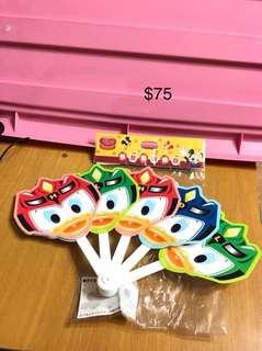 東京迪士尼店唐老鴨Donald duck扇