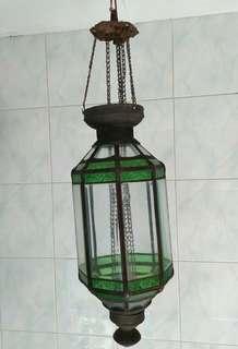 Lampu gantung kuno antik