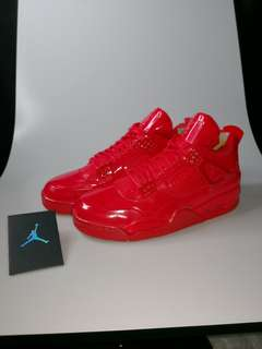 Jordan lab 4 11 university white red restock authentic  Money back kung peke