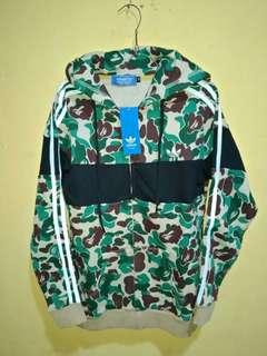 Jaket Adidas X Bape Camo