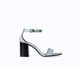 Zara block heel sandal
