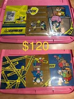 東京迪士尼店唐老鴨Donald duck貨櫃系列file一三個