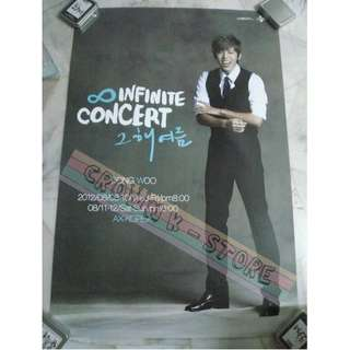 [CRAZY DEAL 90% OFF FR ORIGINAL PRICE][READY STOCK]INFINITE DONGWOO KOREA OFFICIAL POSTER 1PC (SHIP USING TUBE)ORIGINAL FROM KOREA (PRICE NOT INCLUDE POSTAGE)PLEASE READ DETAILS FOR MORE INFO; POSLAJU:PENINSULAR AREA :RM10/SABAH SARAWAK AREA: RM15