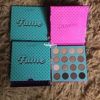 Colourpop Fame Eyeshadow Palette