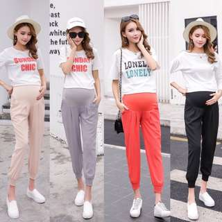 Maternity harem casual loose pants