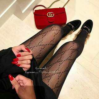 Interlocking G tights by Gucci (Black)