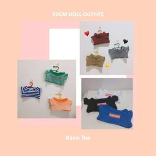 BTS EXO 20CM DOLL Clothes