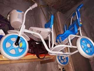 Selling baby bike slightly use