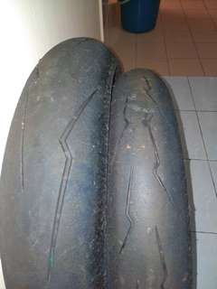 Tayar Second pirelli supercorsa 110/140