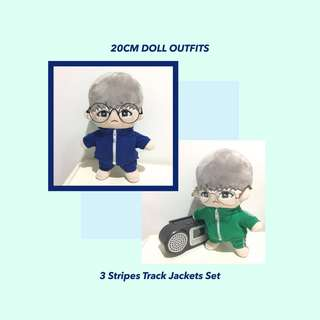 BTS EXO 20CM Doll Outfits