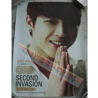 [CRAZY DEAL 90% OFF FR ORIGINAL PRICE][READY STOCK]INFINITE WOOHYUN KOREA OFFICIAL POSTER 1PC (SHIP USING TUBE)ORIGINAL FROM KOREA (PRICE NOT INCLUDE POSTAGE)PLEASE READ DETAILS FOR MORE INFO; POSLAJU:PENINSULAR AREA :RM10/SABAH SARAWAK AREA: RM15
