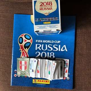 Panini 2018 World Cup Stickers
