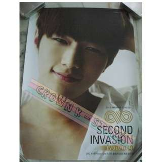 [LAST 1][CRAZY DEAL 90% OFF FR ORIGINAL PRICE][READY STOCK]INFINITE L KOREA OFFICIAL POSTER 1PC (SHIP USING TUBE)ORIGINAL FROM KOREA (PRICE NOT INCLUDE POSTAGE)PLEASE READ DETAILS FOR MORE INFO; POSLAJU:PENINSULAR AREA :RM10/SABAH SARAWAK AREA: RM15
