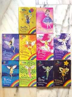Rainbow Magic & The Tiara Club books