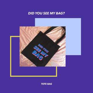 BTS Did You See My Bag ?