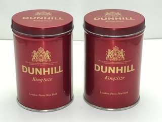 DUNHILL TIN - Set of 2