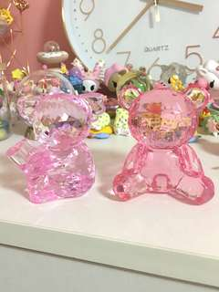 Animal Crystal Figures / Paper Weights