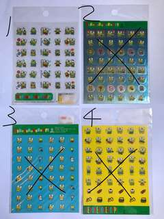 Sanrio中古Keroppi青蛙仔貼紙