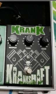 Kranshaft Overdrive By Krank Amplofication